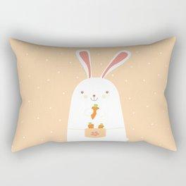 I promise nicely eat carrots. Rectangular Pillow