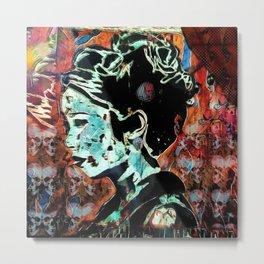 Izanami-no-Mikoto: She Who Invites Metal Print