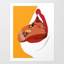 Dysphagia Art Print