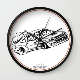 Crazy Car Art 0015 Wall Clock