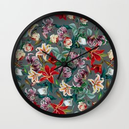 EXOTIC GARDEN VIII Wall Clock