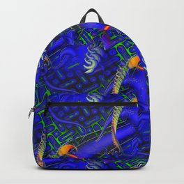 Tricky Bugger 3D Psychedelic Backpack