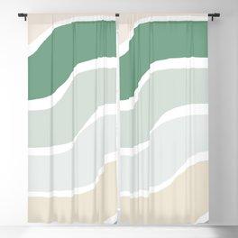 Rainbow Swerve Sorbet Blackout Curtain