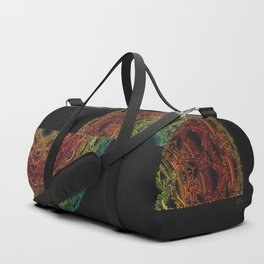 Fractal Horizon Duffle Bag