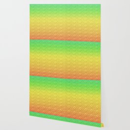 Summer Colors in a Pattern Wallpaper