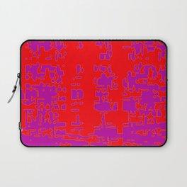 jitter, red violet, 3 Laptop Sleeve