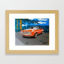 Chevy Camaro Yenko Framed Art Print