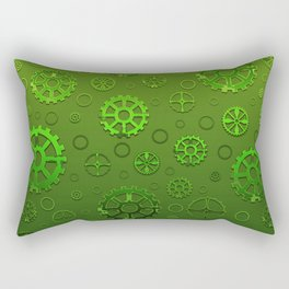 Gears III Rectangular Pillow