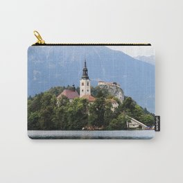 Lake in the mountains Carry-All Pouch