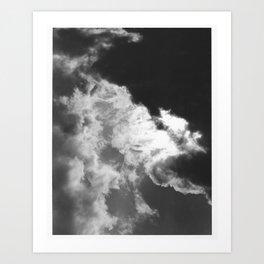 Clouds #1 Art Print