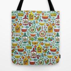 Retro Kitchen Tote Bag