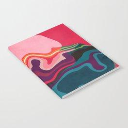 liquid shapes Notebook