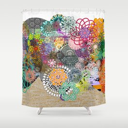 Kris Mandalas Shower Curtain