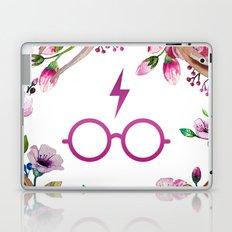 Harry P Flower Laptop & iPad Skin