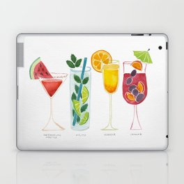 Summer Cocktail Trio Laptop & iPad Skin