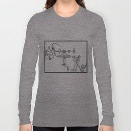 Tzompantli Long Sleeve T-shirt