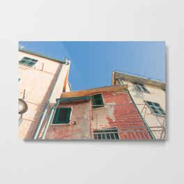Colorful, and wonderful Italy Metal Print