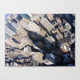 In The Shadow Of Greatness. Canvas Print