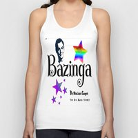 humor Tank Tops featuring Sheldon Humor by GrOoVy Photo Art