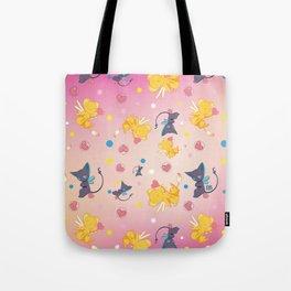 Spinell & Kerochan Pattern Tote Bag