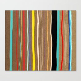Abstract Art Colorful  Pattern Canvas Print