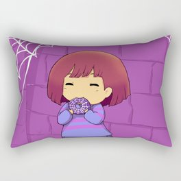 Undertale  spider donut Rectangular Pillow