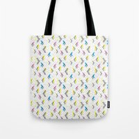 jem Tote Bags featuring Jem 1 by Kukka
