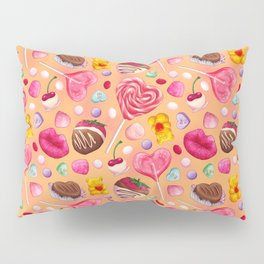 Valentine's Day Candy Pattern Pillow Sham