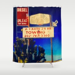 RRoute 66 Sign Shower Curtain