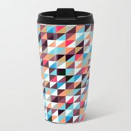 Quilted Patchwork Metal Travel Mug
