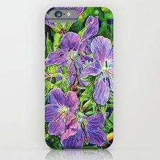 Six Wild Geraniums iPhone 6s Slim Case