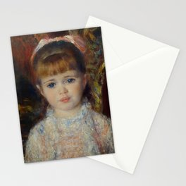 Pink and Blue, the Cahen d'Anvers Girls Stationery Cards