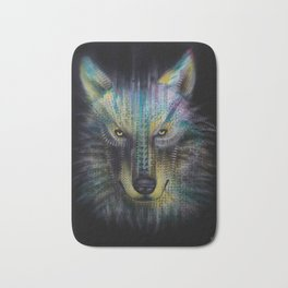wolf_1 Bath Mat