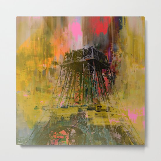 Paris  forever   (A day of gloom ) Metal Print
