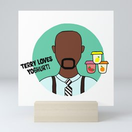 Terry Jeffords Mini Art Print