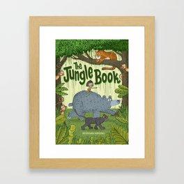 'The Jungle Book' Framed Art Print
