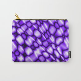 Remains of harmful vapors of the amethyst mesh from dark cracks on the glass. Carry-All Pouch