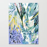 botanical Canvas Prints featuring Botanical by Amanda Swart
