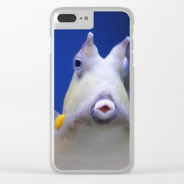 Pucker Up Clear iPhone Case