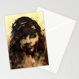 Female Zombie Stationery Cards