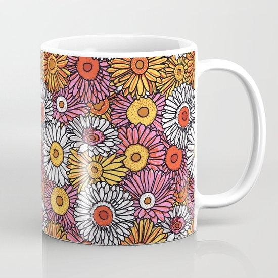 Daisy Pattern Mug