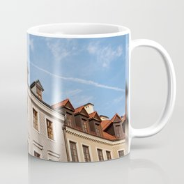 Tenement houses with attic in Lublin Coffee Mug
