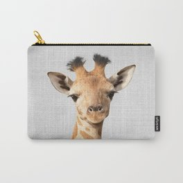 Baby Giraffe - Colorful Carry-All Pouch