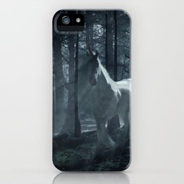 Unicorn in the Forest iPhone Case