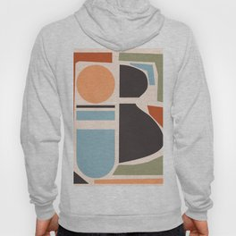Abstract Shapes 58 Hoody