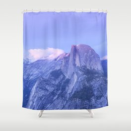 Lavendar Half Dome Shower Curtain