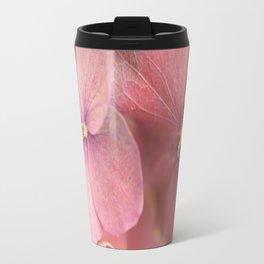 Hortensia Flower Pink Hydrangea #decor #society6 Travel Mug