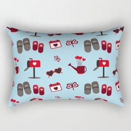 Love pattern Rectangular Pillow