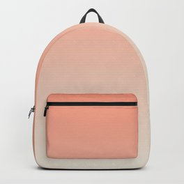 Apricot . Ombre Backpack