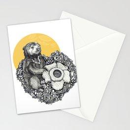 Honey Sun Bear Stationery Cards